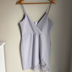 Lilac Misguided Dress
